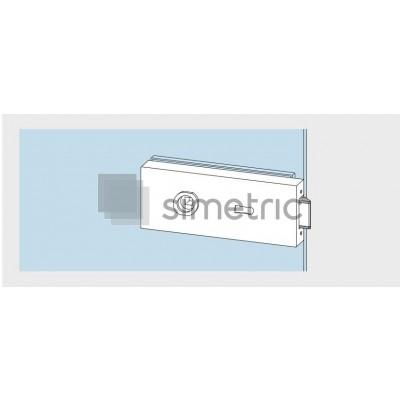 DORMA STUDIO Classic - Broasca cu gaura maner pe spate, cu incuiere din cheie - 10.004