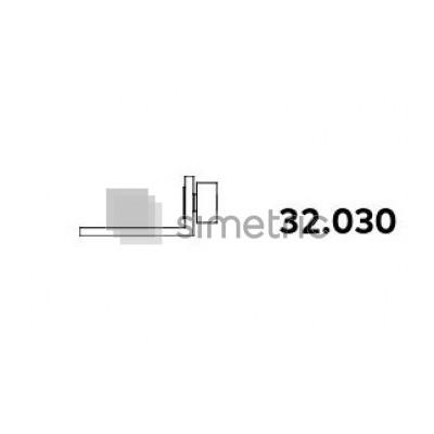 DORMA ALEXA AT 44  - Coltar supralumina panou fix, dreapta  - 32.030