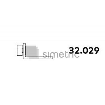 DORMA ALEXA AT 44  - Coltar supralumina panou fix, stanga  - 32.029