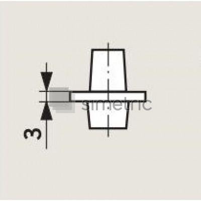 DORMA BTS  - Insert standard amortizor de pardoseala BTS 75/80/84 - 45.200.401