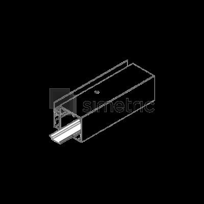 DORMA Muto L 80 - Profil acoperire gol sina de rulare, 6 ml - 36.800