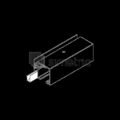DORMA Muto L 80 - Profil acoperire gol de trecere, 1 ml - 36.803