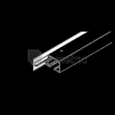 DORMA Muto L 80 - Profil foaie laterala fixa, 1 ml - 36.274
