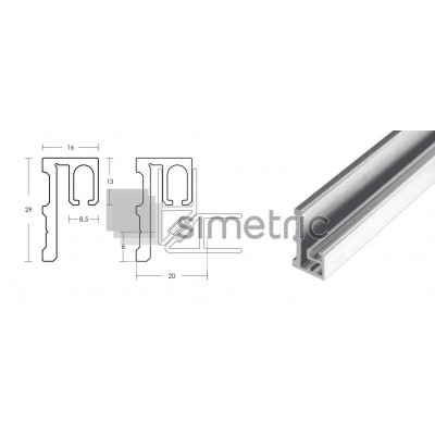 Suport prindere perete pentru garnitura cu magnet la 90 grade  - GG10