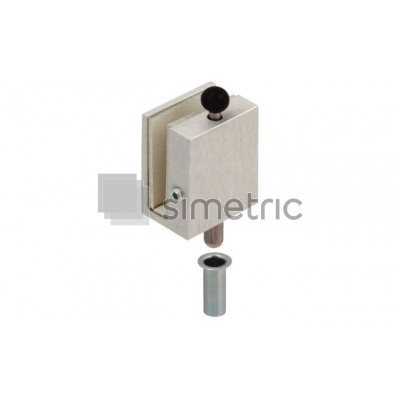 DORMA Zavor incuiere in pardoseala sau toc pentru canatul inactiv, grosime sticla 10mm - 12.302.150
