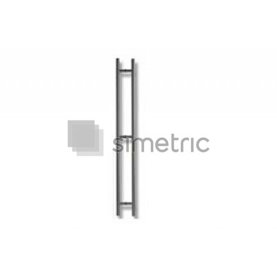 DORMA  Maner H 25 X 1800 interax 815 mm - 3 prinderi - 1 SET - 2761280