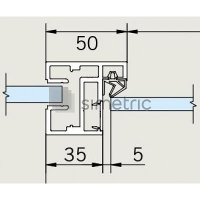 DORMA ALEXA AT 50 - Toc usa batanta sticla securizata - 5,5 ml - 32.050